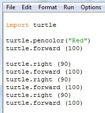 Drawing shapes with Python – Computer Science